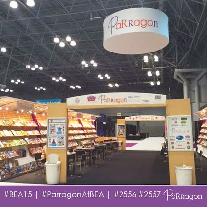 We're all set @BookExpoAmerica! So many exciting things to share! Booth 2556 & 2557! #ParragonAtBEA #BEA15 #BookLover