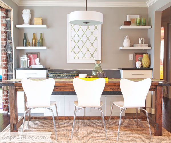 pin for later 5 unexpected ways to make the most of ikea cabinets diy a cozy dining banquette - Dining Banquette