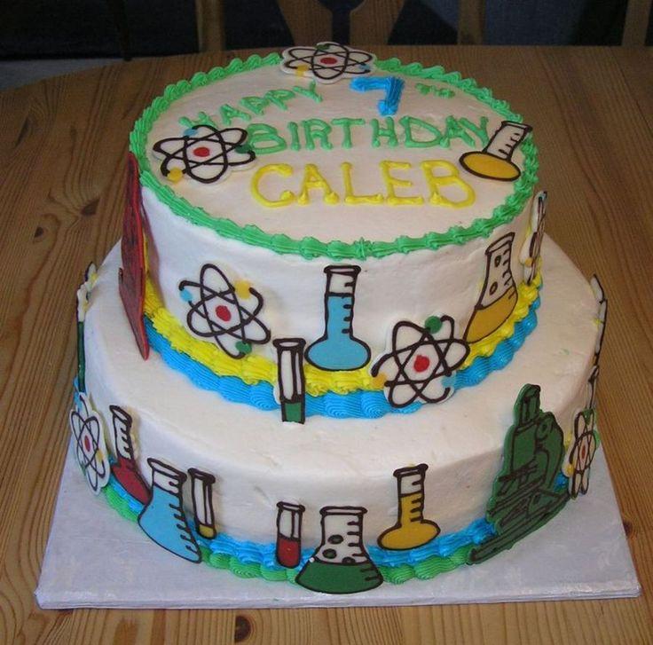 Science Cake on Cake Central