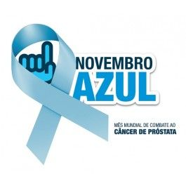 Broche Fita Azul consciência câncer de prostata