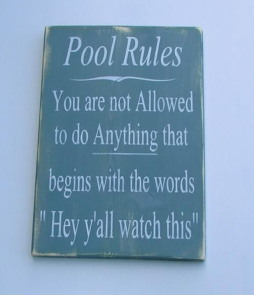 hand painted wood sign pool rules sign pool sign primitive rustic sign outdoor decor home and living distressed sign sign - Pool Signs