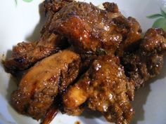 Indonesian Food. Ayam Semur (Recipe in Dutch)