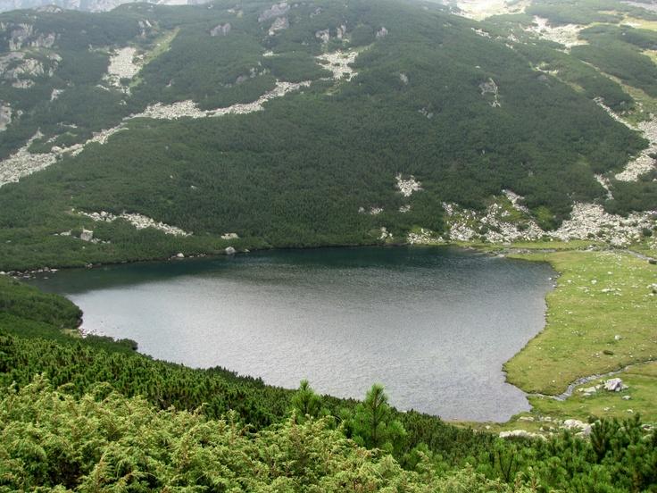 Barajul Gura Apei, Muntii Retezat
