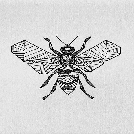 Best 25 bee illustration ideas on pinterest honey bee drawing beevia iain claridge tattooinspiration bee ink ccuart Images