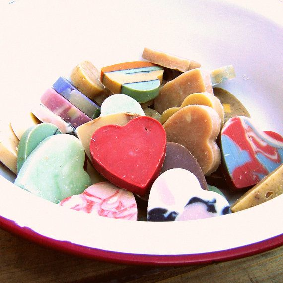 DIY Wedding favors  50 Heart Shaped Soaps  by SoapForYourSoul, $52.50