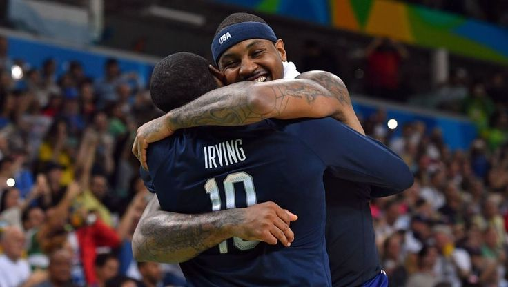 Things are getting crazy. The basketball world was shocked yesterday to learn that Cavs superstar point guard Kyrie Irving had requested a trade away from the team, stemming from his desire to be the No. 1 guy and no longer sit in LeBron's shadow. Of course, the second that news became public, reports starting spewing …