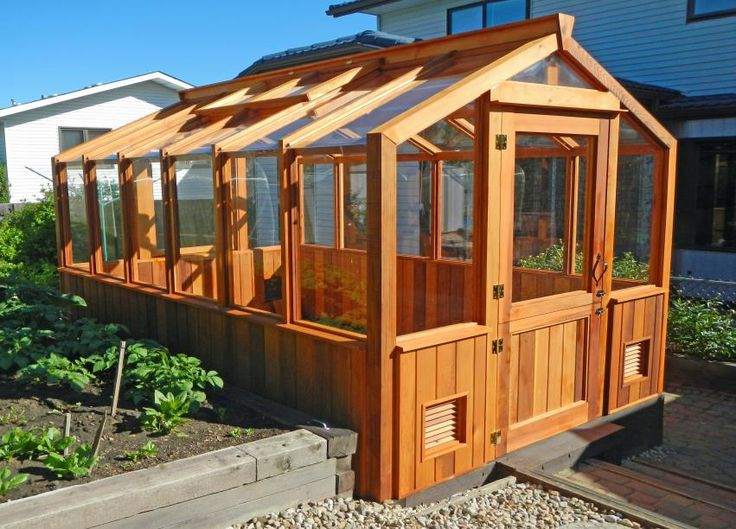 constructed of mainly clear select grade beautiful Coastal Canadian Western Red Cedar