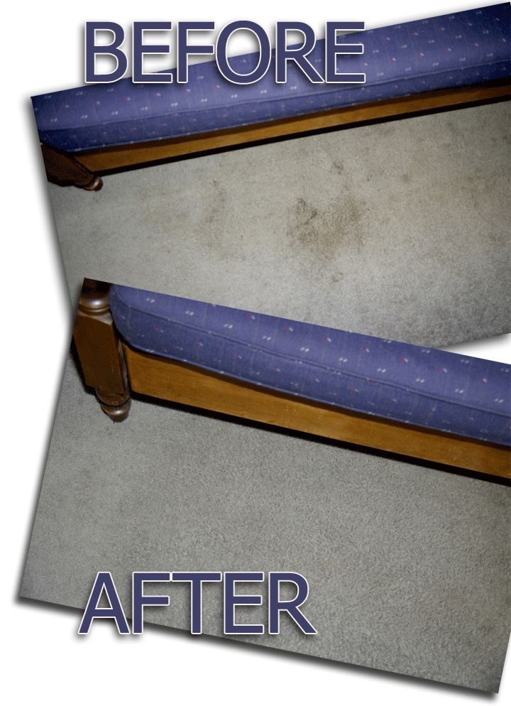 """Carpet cleaning Before and After - """"Steve found this """"recipe"""" on Pinterest and decided to try it. Our carpets now look brand new — it's amazing."""" 2 ounces Hydrogen Peroxide (3% - brown bottle from drug store) 1 ounce Dawn Dish Soap (blue original)"""