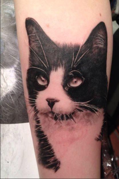 mia's tattoovision #tattoo #cat