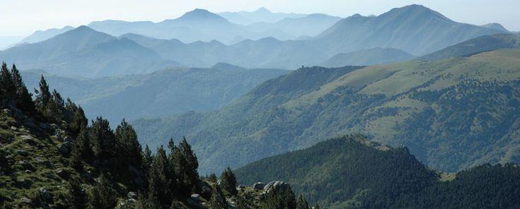 L'etapa Sant Guillem-Vetera és un magnífic mirador de l'Alta Garrotxa.