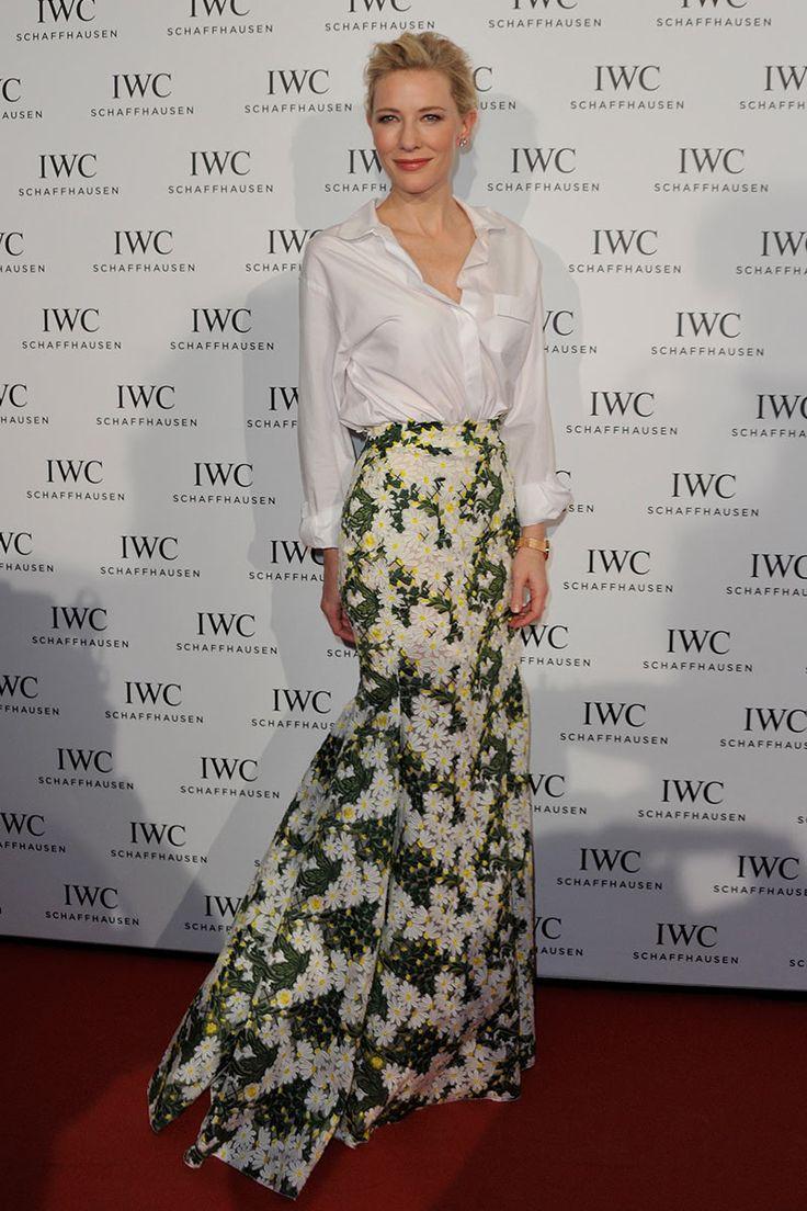 Cate Blanchett, como puede gustarme tanto esta mujer. En cuanto a estilo se refiere. Impresionante!!