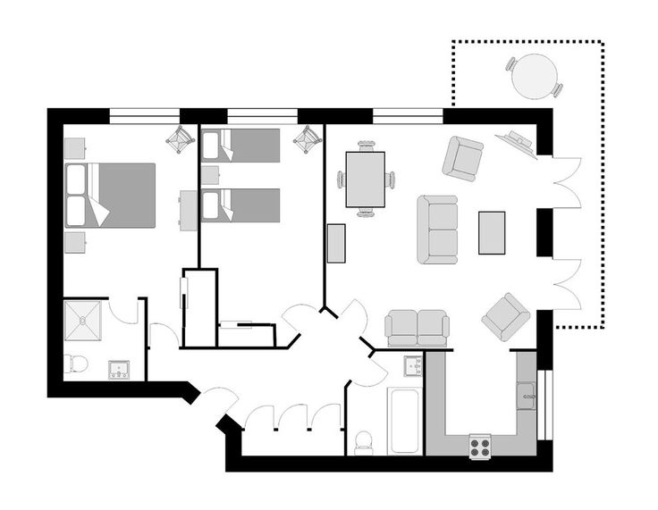 Image result for luxury 2 bedroom apartment floor plans33 best Granny s Pad  images on Pinterest   Small houses  House  . Luxury Two Bedroom Apartment Floor Plans. Home Design Ideas