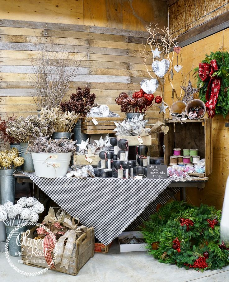 Shop Decorations For Christmas: Boutique Displays Images On Pinterest