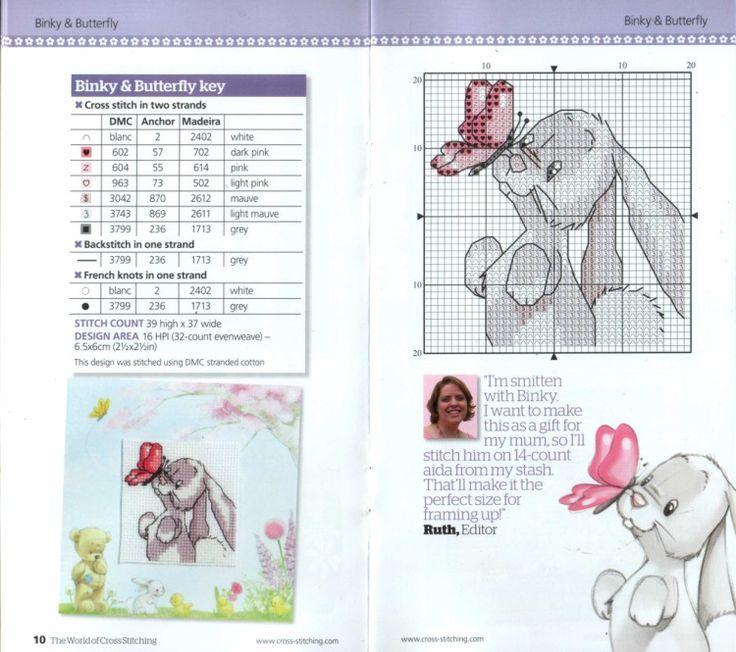 Gallery.ru / Фото #104 - The world of cross stitching 186 + Springtime card cuties - tymannost http://tymannost.gallery.ru/watch?a=bySI-kFQb