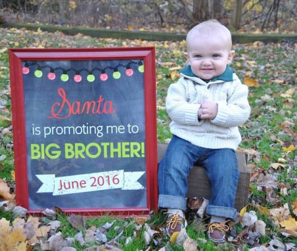 17 Best ideas about Christmas Pregnancy Reveal – Cute Ways to Announce Second Baby