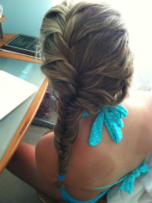 how to make a loose braid