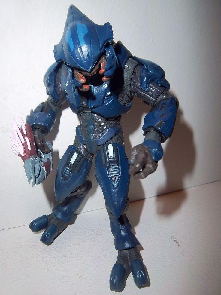 Halo Reach Series 1 **BLUE ELITE MINOR** McFarlane Figure ...