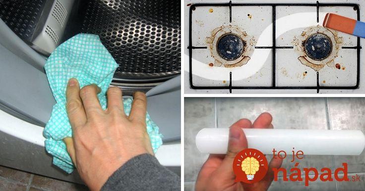 S týmto manuálom bude čistenie domácnosti odteraz hračka. A čo je najlepšie, zvládnete to celkom bez prostriedkov z obchodu!