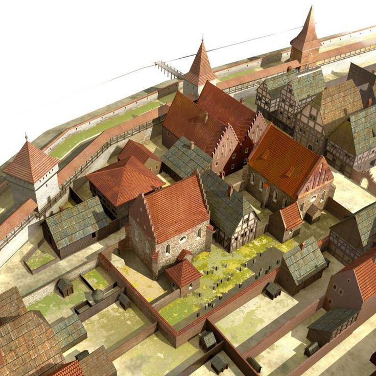 Jak wyglądały domy i synagogi w żydowskiej dzielnicy w średniowiecznym Krakowie? Więcej: http://www.modnykrakow.pl/depe/?p=15420