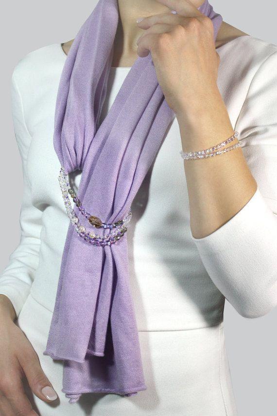 Sciarpa gioiello c0757169ca14