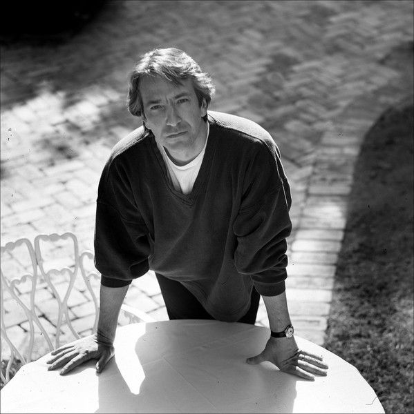 """Alan Rickman """"I've never been able to plan my life. I just lurch from indecision to indecision."""""""