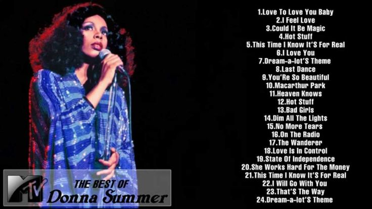 The Best Of Donna Summer [Full song HD] || Donna Summer's Greatest Hits