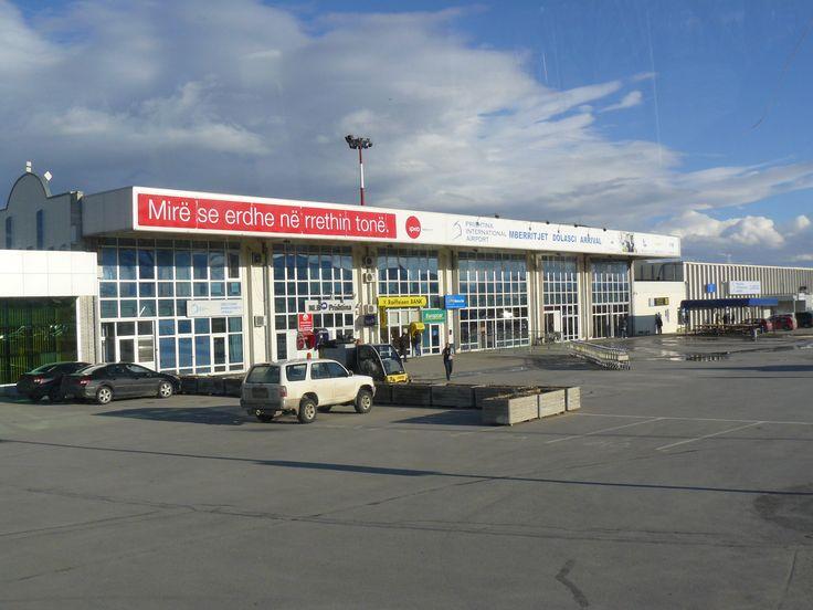 Kosovo's capital airport before the recent renovations #ttot #travel #kosovo