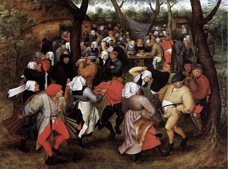 Brueghel Le Jeune - Noce de Campagne