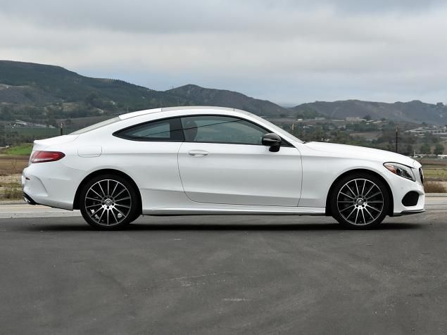 Short Report The New 2017 Mercedes C Class Coupe Lacks Dramatic Style But Delivers Dynamic Substance Mercedes C Class Coupe Mercedes E Class Coupe Mercedes Benz C300