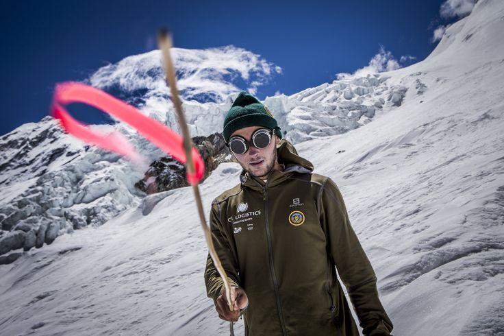 """Shishapangma Ski Challenge 2013"" was the first event of the five-year project called Hic Sunt Leones.. photo: Marcin Kin Photography #suntleones #shishapangma"