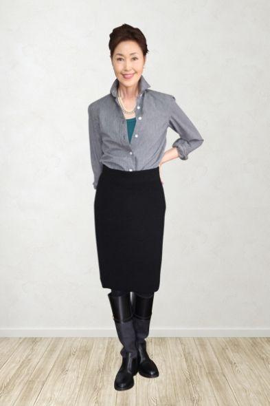 大人おしゃれなコーデ♪60代コーデ♪スタイル・ファッションの参考に☆ Teacher