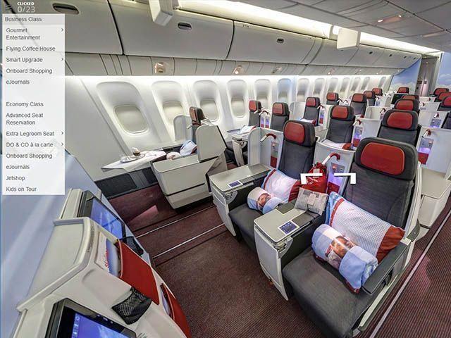 Austrian Airlines Le Choix Du Siege En Vr 360