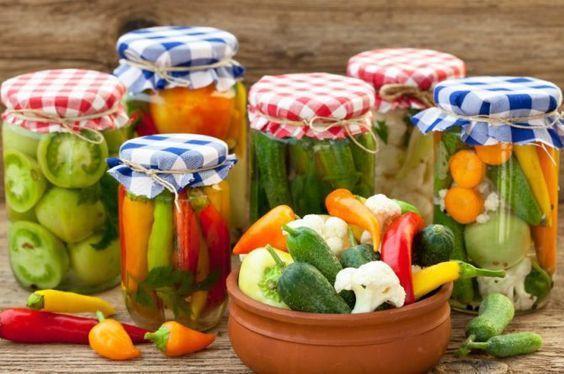 Cómo hacer encurtidos de vegetales