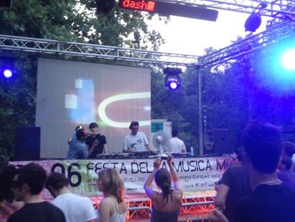 let's get it started @ Festa Della Musica 2008