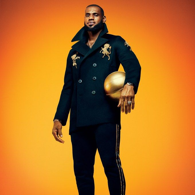 new concept 15dbd c793e LeBron James on Becoming the Greatest, that