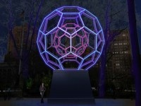 Leo Villareal to Create Giant Glowing LED Buckyball For Madison Square Park, New York City