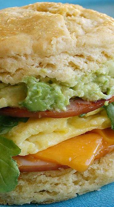 15-Minute Einkorn Biscuit Breakfast Sandwich Recipe