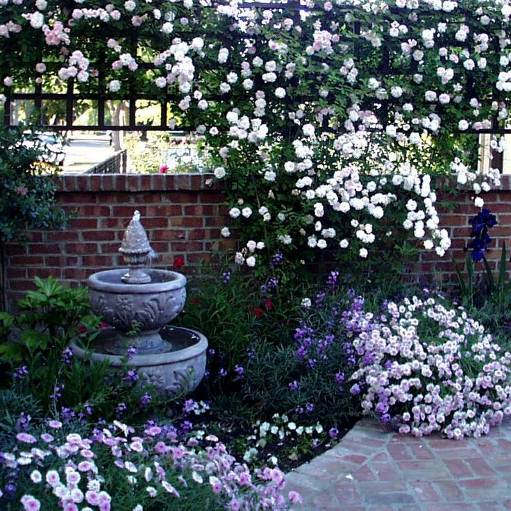 Pretty Stone Garden Walls: 17 Best Images About Garden Fountains On Pinterest