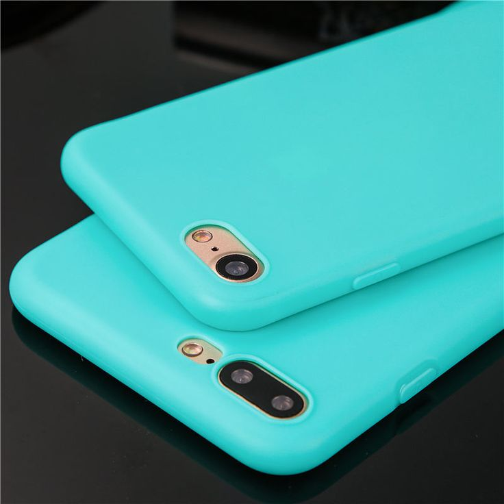 Ultra thin candy color phone cases for iphone 6 6s 6plus 6splus 7 7plus 5 SE 5s case coque soft tpu back cover silicone in stock