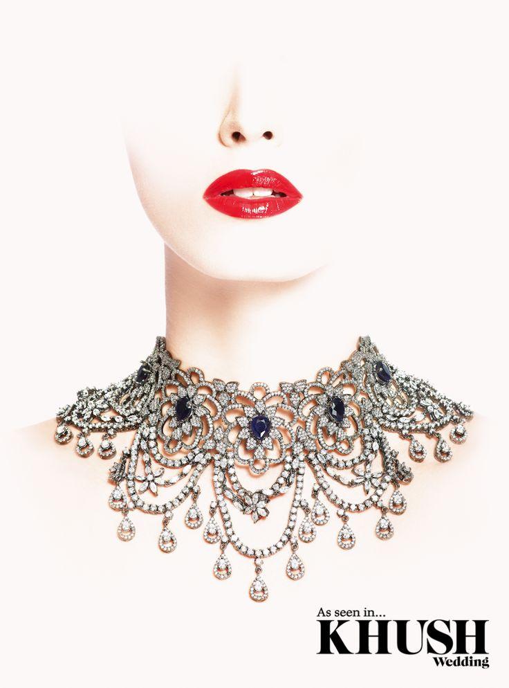 Red Dot Jewels definitely have the jewel factor!  201 Marsh Rd, Pinner, Greater London HA5 5NE +44 (0)208 869 9920  +44 (0)7932 027 777 www.reddotjewels.com  Makeup: Asian Bride Makeup