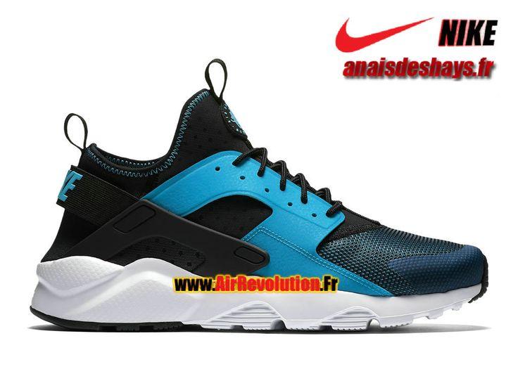 Boutique Officiel Nike Air Huarache Ultra Homme Bleu lagon/Noir/Blanc 819685-401