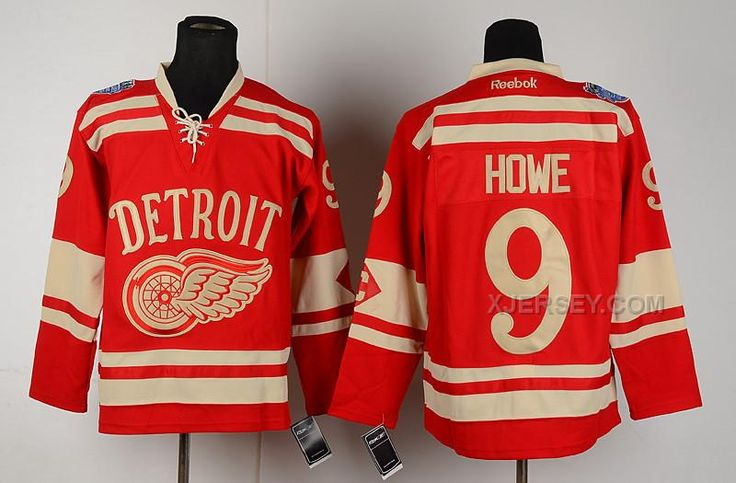 http://www.xjersey.com/red-wings-9-howe-red-classic-jerseys.html RED WINGS 9 HOWE RED CLASSIC JERSEYS Only $46.00 , Free Shipping!