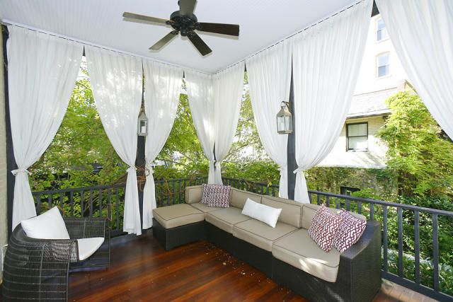 Lovely Patio Curtains