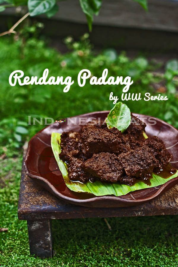 Beef Rendang Padang by WW Series
