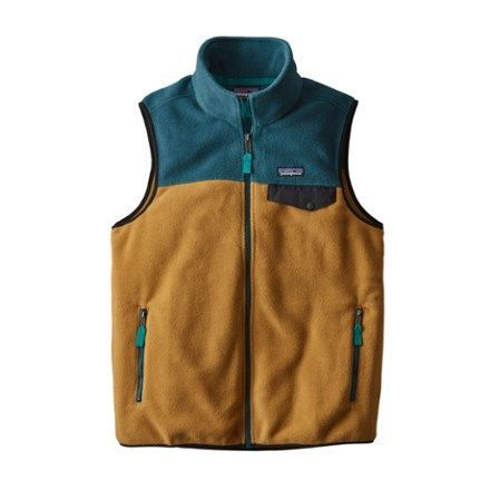 Patagonia Men's Snap-T Fleece Vest Oaks Brown XXL