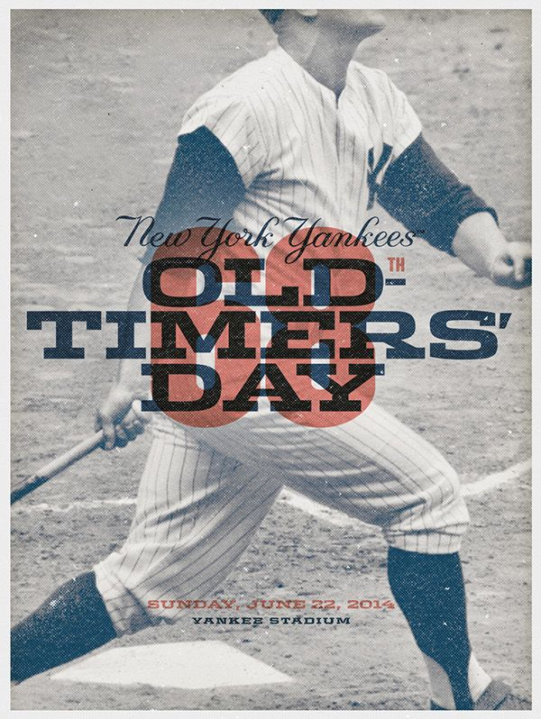 Each year some of the greatest players that ever step onto the field and take part in Old-Timers' Day at Yankee Stadium. One of my favorite days on the schedule. An expanded look at some of this years materials.