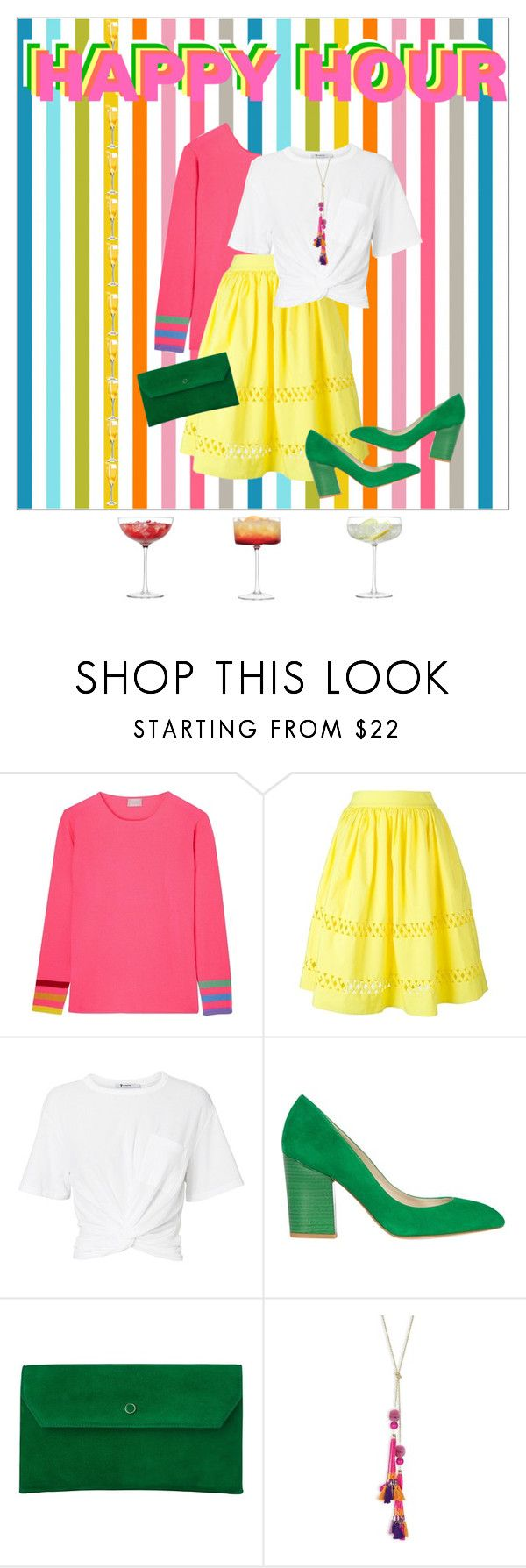 """""""Drinks on me"""" by nicolineb ❤ liked on Polyvore featuring Orwell + Austen, Alice + Olivia, T By Alexander Wang, Karen Millen, L.K.Bennett, Robert Rose and LSA International"""