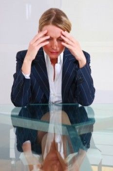physical symptoms of stress in women