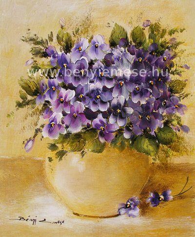 Bényi Emese:Ibolyák vázában