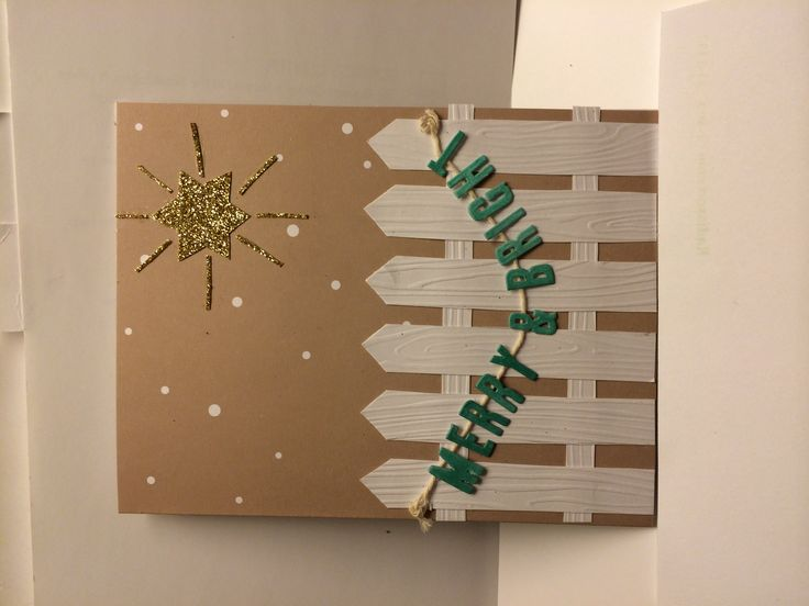 Stampin' Up! demonstrator Lisa Y's project showing a fun alternate use for the Watercolor Winter Simply Created Card Kit.